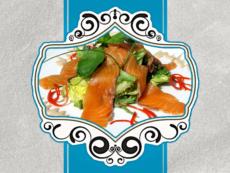 Салаты из рыбы и морепродуктов